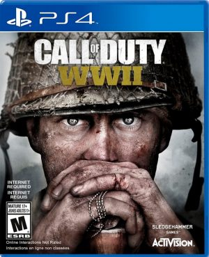 Portada del juego call of duty WII para PS4