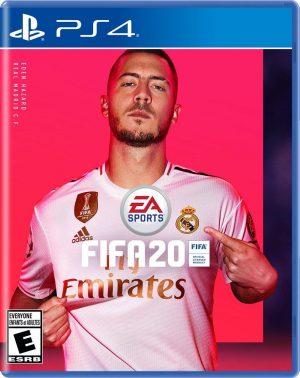 Portada del juego Fifa 20 para PlayStation 4