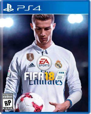 Portada del juego Fifa 18 - PlayStation 4