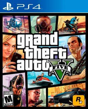 portada del juego GTA 5 - PlayStation 4