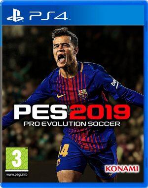 Portada del video juego PES 2019 - PlayStation 4