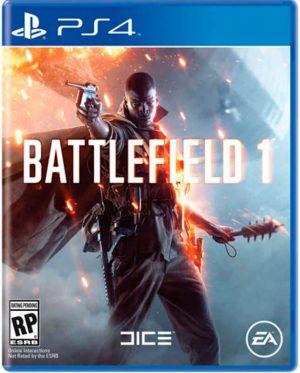 portada del juego battlefield 1 para playsation 4