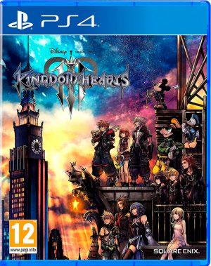 Portada del juego Kindom Hearts 3 - PS4