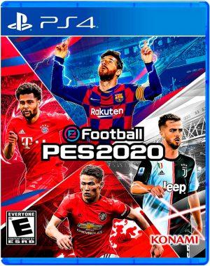 Portada del juego eFootball Pes 2020 - PS4