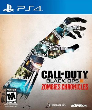 Portada del juego Call Of Duty: Black OPS III - Zombies Chronicles