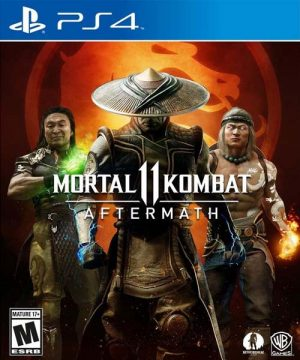 Portada del juegoMortal Kombat 11: Aftermath - PS4