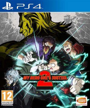 Portada del juego My Hero One's Justice 2 - PS4