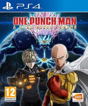 Portada del juego One Punch Man: A Hero Nobody Knows - PS4