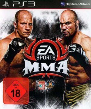 Portada del juego EA Sport MMA - PlayStation 3