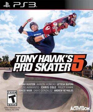 Portada del juego Tony Hawk's Pro Skater 5 - PS3