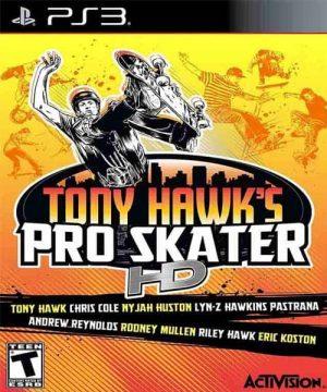Portada del juego Tony Hawk's Pro Skater HD - PS3