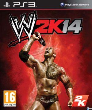 Portada del juego WWE 2K14 - PlayStation 3