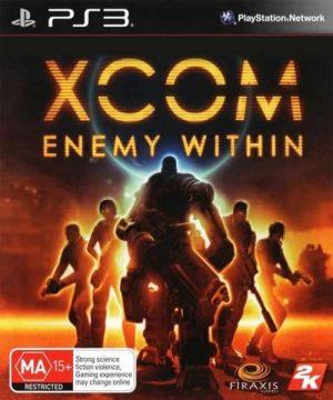 Portada del juego XCOM: Enemy Within - PS3