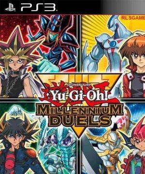 Portada del juego Yu-Gi-Oh Millennium Duels - PS3